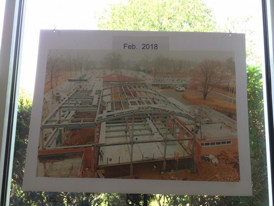 The additions progress at around February, as you can see, the structures