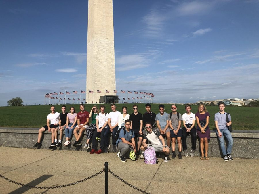 Washington D. C. Trip of the Graduating Class of 2020